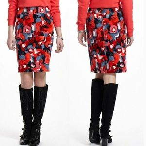 Anthro Vanessa Virginia Pencil Skirt